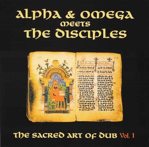 Alpha & Omega meets The Disciples <br>The Sacred Art Of Dub Vol 1<br>LP, Ltd, RM, White